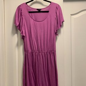 Banana Republic Lavender Dress in Small